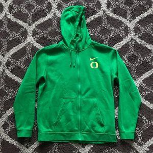 Nike University of Oregon Ducks Green/Yellow Hood